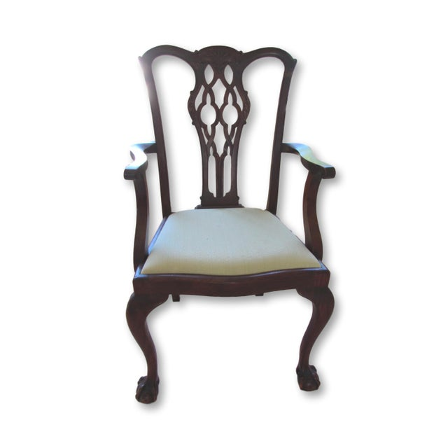 Antique Chippendale Dining Chairs - Set of 6 - Image 2 of 6