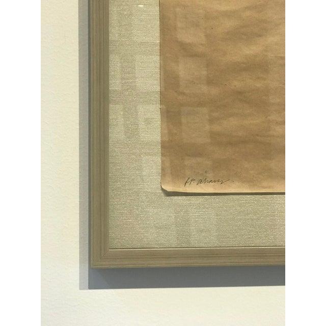 "Contemporary R. F. Alvarez ""Branche Noir"" Contemporary Painting For Sale - Image 3 of 4"