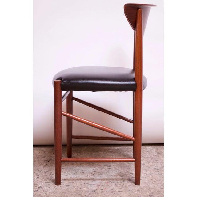 Black Teak Dining Chairs by Peter Hvidt and Orla Mølgaard Nielsen - Set of 8 For Sale - Image 8 of 13