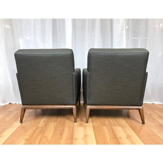 Robsjohn-Gibbings for Widdicomb Lounge Chairs - A Pair - Image 6 of 9