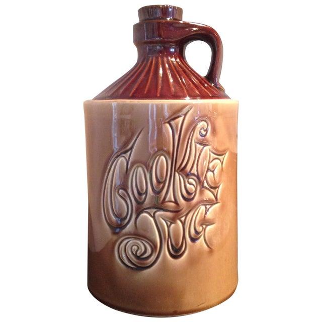 McCoy Vintage Brown Ceramic Cookie Jar - Image 1 of 8
