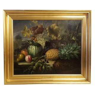 Circa 1830 - 1875 Oil on Canvas by James Charles Ward For Sale