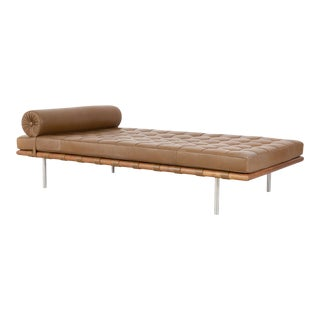 Mies Van Der Rohe Barcelona Couch for Knoll For Sale