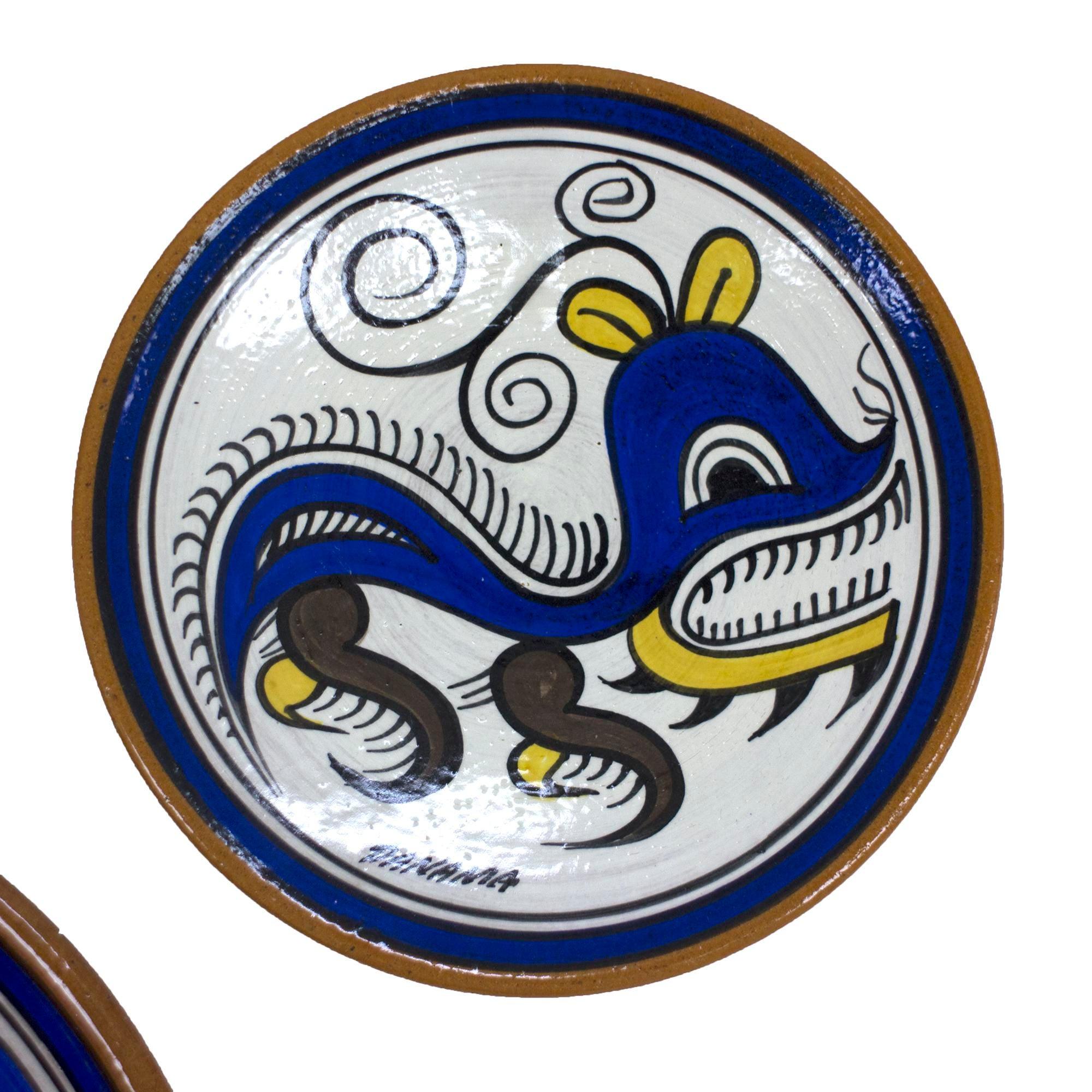 Guna Yala Panama Hand-Painted Decorative Plates - Set of 3 - Image 3 of  sc 1 st  Chairish & Guna Yala Panama Hand-Painted Decorative Plates - Set of 3 | Chairish