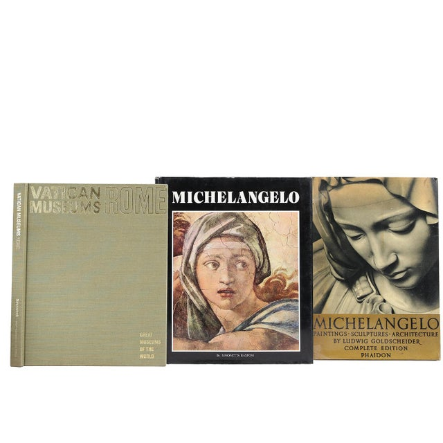 The Renaissance of Italian Painting, S/7. Seven hardcover vintage books featuring selections that highlight the...