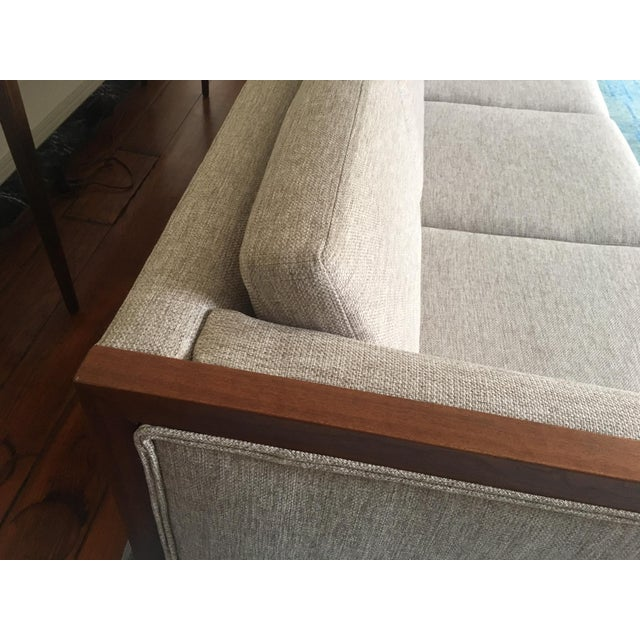 Mid-Century Modern Four Seat Long Sofa by Dux For Sale - Image 10 of 13