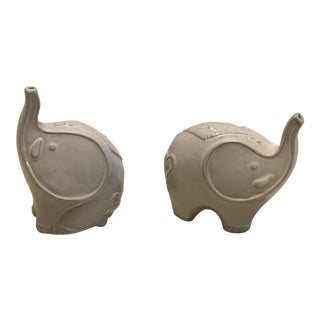 Jonathan Adler Elephant Salt and Pepper Shakers - a Pair