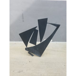 1970's Abstract Expressionist Brutalist Welded Steel Sculpture Preview