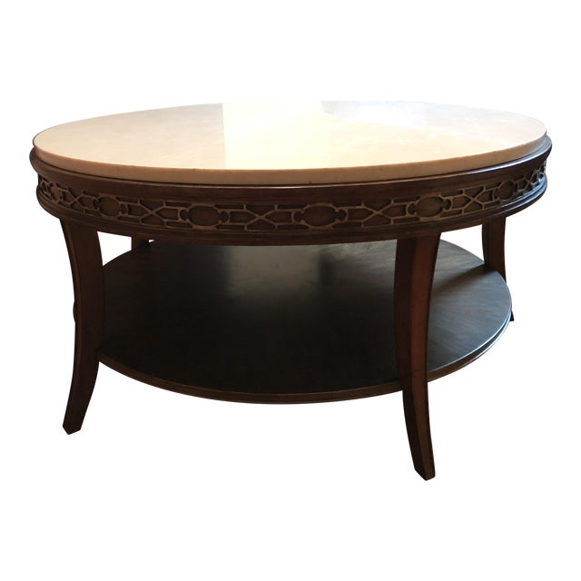 Drexel Heritage Olio Collection Coffee Table For Sale