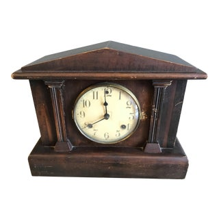 Old Waterbury Mantle Clock For Sale