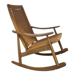 Danish Modern Rocking Chair For Sale