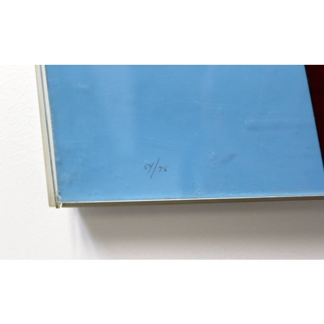 Printmaking Materials 1968 Mid-Century Modern Allan d'Arcangelo Abstract Surrealist Print For Sale - Image 7 of 9