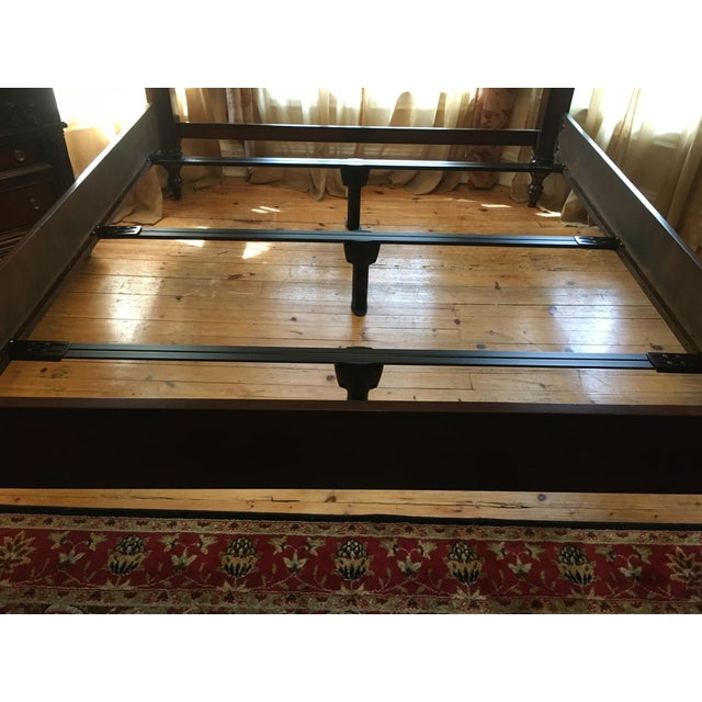 Tommy Bahama Rumba Del Sol Four Poster Bed For Sale - Image 11 of 13