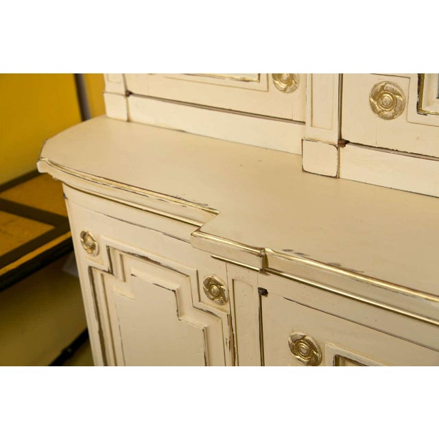 Maison Jansen Ivory Painted Bookcase - Image 5 of 10