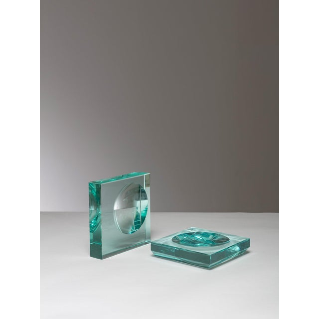 1960s Pair of Fontana Arte Trays For Sale - Image 5 of 5