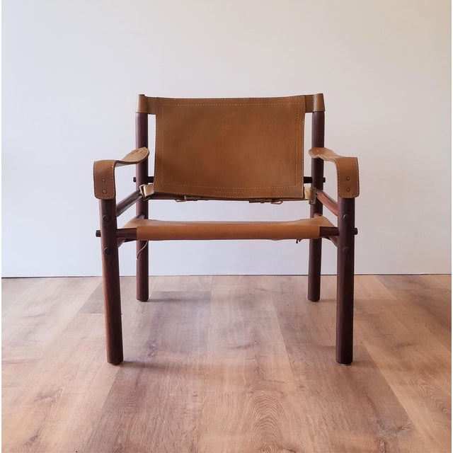 Mid-Century Modern Vintage Sirocco Chair by Arne Norell For Sale - Image 3 of 13