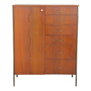 Vintage 1960's Milo Baughman Gentleman's Chest for Directional