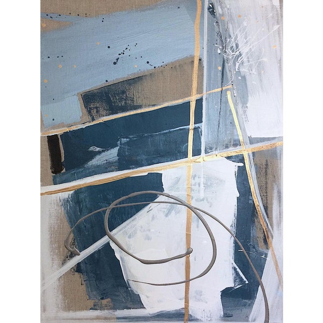 'TSCHUMi' original abstract painting by Linnea Heide - Image 1 of 7