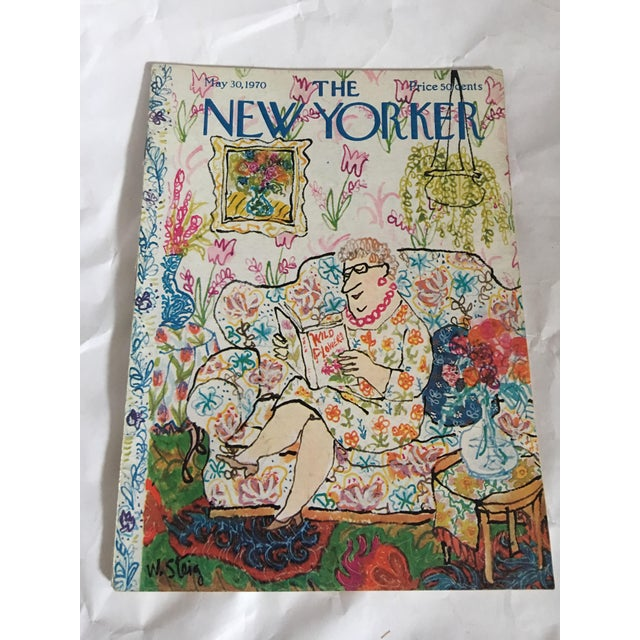 1956, 1963 & 1970 New Yorker Magazines With Steig Covers - Set of 3 - Image 5 of 11