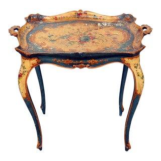 18th Century Italian Venetian Tray Table For Sale