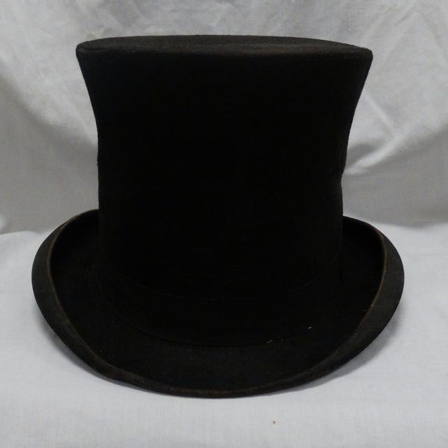 1900s Beaver Top Hat - Image 3 of 4