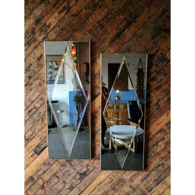 Hollywood Regency Vintage Mirror - Image 2 of 6