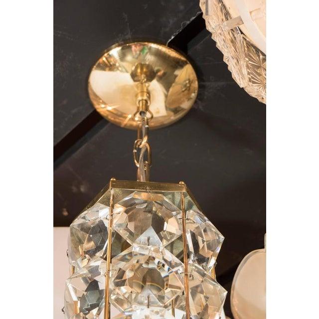 Mid-Century Modern Mid-Century Modernist Pendant Chandelier For Sale - Image 3 of 7