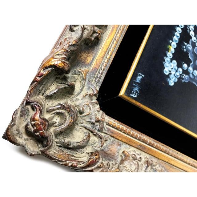Mid Century Original Jewelry Still Life Oil Painting by Linda Hagar - Image 3 of 3