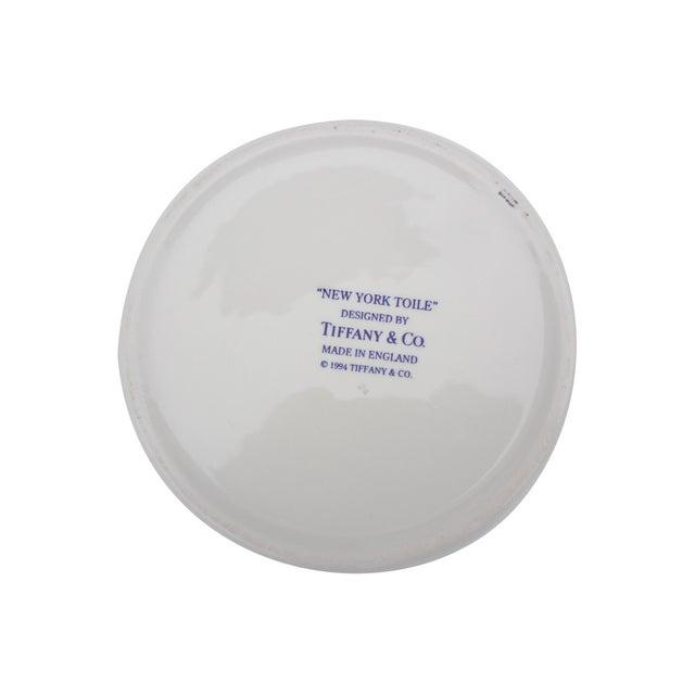 Tiffany & Co. Blue & White Lidded Trinket Bowl - Image 6 of 7