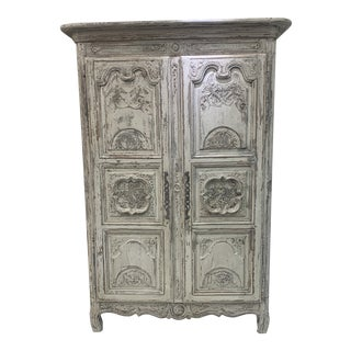 Early 19th Century Antique French Armoire For Sale