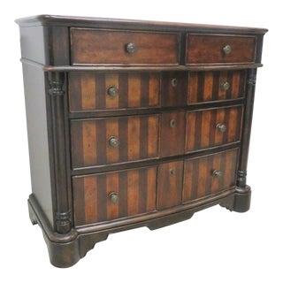 Italian Style Mahogany 2-Tone Dresser