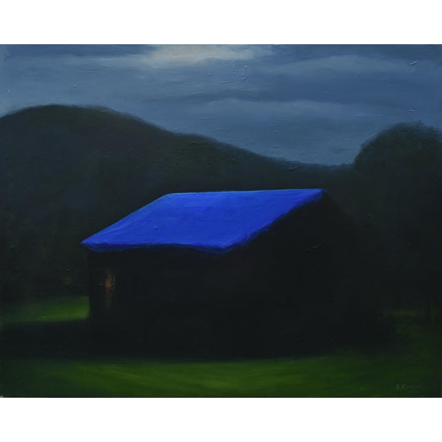 """""""Temporary Fix With a Storm Approaching"""" Painting For Sale - Image 12 of 12"""