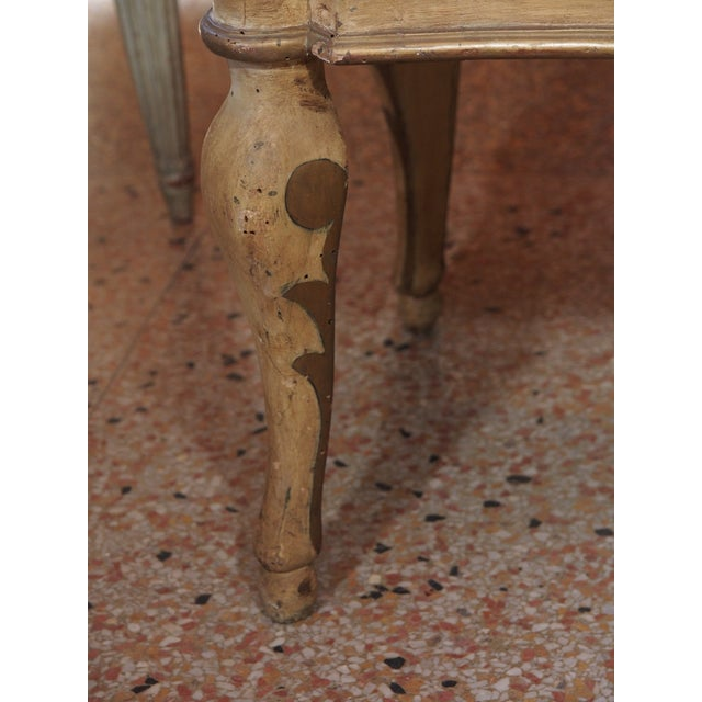 Small 19th Century Italian Side Table For Sale - Image 4 of 7