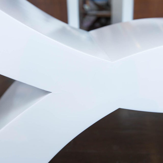 Custom Lacquered Console Table - Image 6 of 10