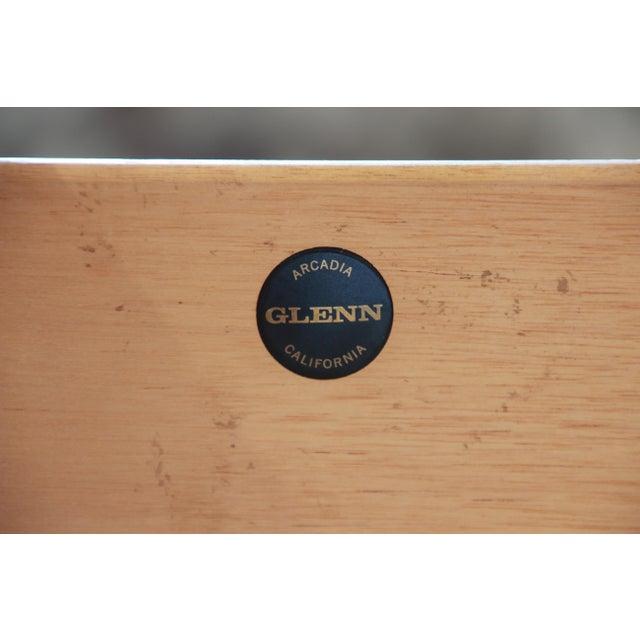 John Kapel for Glenn of California Mid-Century Modern Eight-Drawer Walnut Dresser For Sale - Image 12 of 13