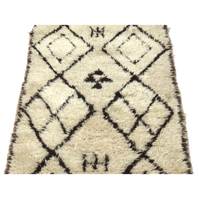 Islamic Vintage Moroccan Azilal Runner - 2′5″ × 6′2″ For Sale - Image 3 of 7