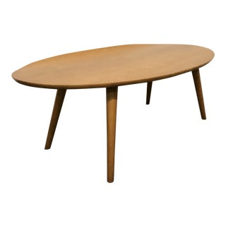 1950s Mid-Century Modern Conant Ball Coffee Table For Sale
