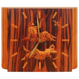 Art Deco Mythology Clock For Sale
