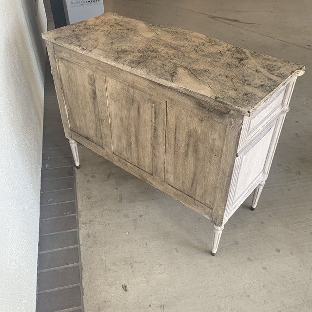 20th Century French Painted Commode For Sale - Image 11 of 13