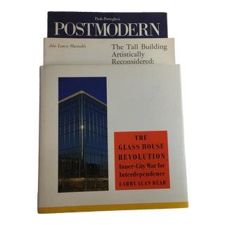 Modern Architecture Skyscraper Books - Set of 3 For Sale
