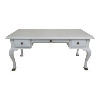 Shabby Chic Hart Association Tommi Parzinger Writing Desk For Sale