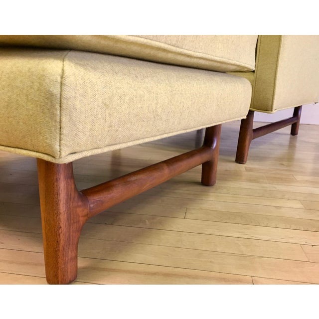 1960s Vintage Teak Lounge Chair & Ottoman For Sale In Cleveland - Image 6 of 7