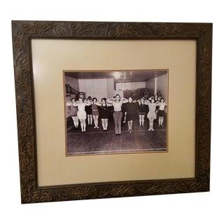 Vintage Jack Lalanne Framed Photograph For Sale