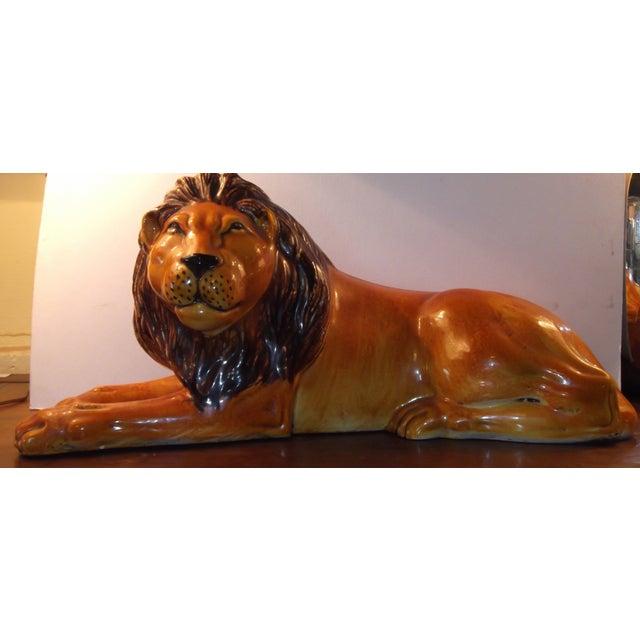 Vintage Terracotta Lion - Image 2 of 11