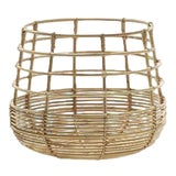 Image of Cane-Line Sweep Basket, Round For Sale