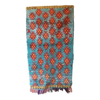 Rag Vintage Moroccan Rug For Sale