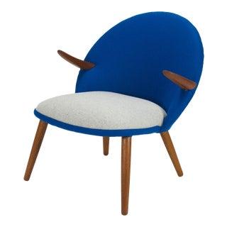 """1960s Vintage Svend Aage Eriksen """"Penguin"""" Teak Easy Chair For Sale"""