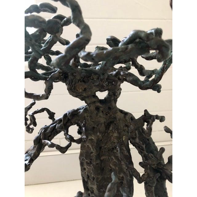 1960s 1960s Brutalist Bronze Tree Sculpture For Sale - Image 5 of 7