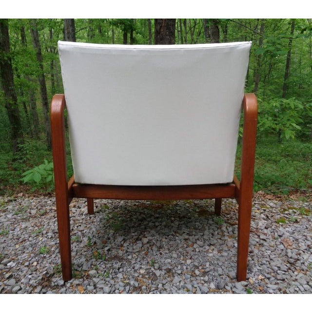 Rare 1960 Barney Flagg for Drexel Parallel Bent Wood Club Chair For Sale In Nashville - Image 6 of 13