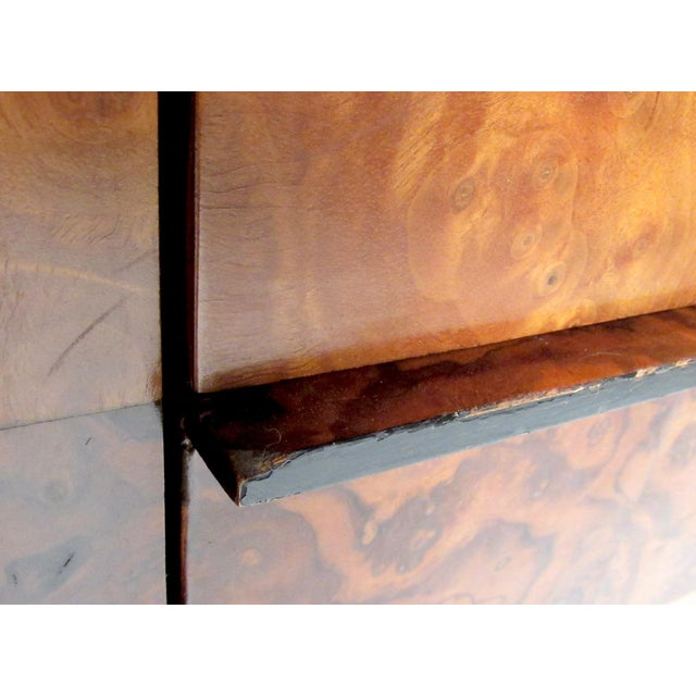 "Paul Evans ""Cityscape"" Burlwood Executive Desk For Sale - Image 9 of 13"